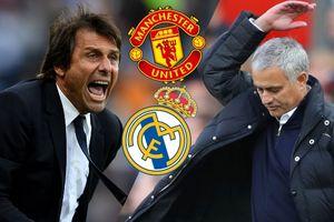 Không đạt được thỏa thuận với Real, Conte muốn thay Mourinho dẫn dắt M.U