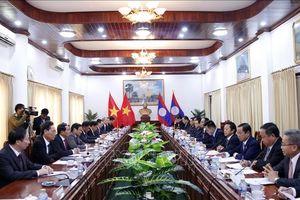 Tăng cường quan hệ hữu nghị truyền thống, đoàn kết đặc biệt Việt Nam-Lào