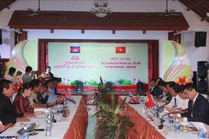 Giao lưu nhân dân giữa hai tỉnh Đắk Lắk và Mondulkiri của Campuchia