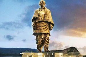 Ấn Độ khánh thành bức tượng lớn nhất thế giới, cao gấp đôi tượng Nữ thần Tự do
