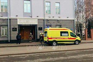 Vụ nổ tại Cơ quan An ninh LB Nga: Người thiệt mạng mang bom trong người