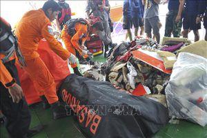 Rơi máy bay tại Indonesia: Thu thập ADN của người nhà để xác định danh tính nạn nhân