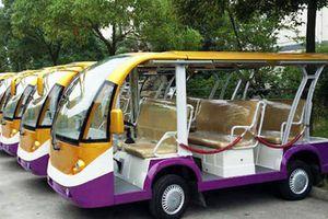 Đà Lạt thí điểm sử dụng xe điện chở khách du lịch đi tham quan