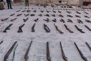 Quân đội Syria thu giữ một kho vũ khí lớn trong địa phận tỉnh Homs