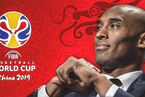 Huyền thoại Lakers - Kobe Bryant trở thành đại sứ toàn cầu cho Cúp bóng rổ thế giới FIBA 2019