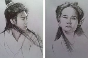 Những nhân vật trong truyện kiếm hiệp Kim Dung qua nét vẽ của người hâm mộ Việt Nam