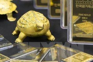 Giá vàng châu Á ngày 31/10 giảm xuống mức thấp nhất gần hai tuần