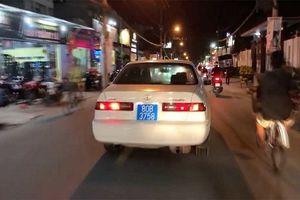 Hé lộ thân thế của người lái xe biển xanh 80B giả gây náo loạn trên phố Sài Gòn