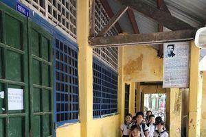 Thừa Thiên Huế: Nhiều trường thiếu phòng, việc học tập khó khăn
