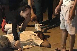 Nghi án lái taxi bị bắn vào bụng, chèn xe qua bụng ở Hà Nội