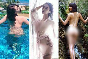 Trước ảnh nude Hồng Quế lộ ngực, loạt sao Việt này cũng bị dư luận 'ném đá' vì khoe thân quá đà