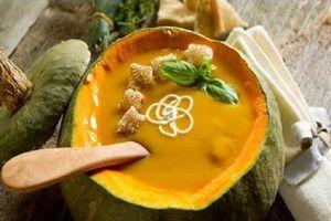 Cách chế biến súp bí đỏ - món ăn truyền thống ngày Halloween