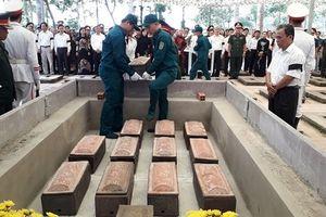 Đồng Nai: Đưa 13 hài cốt liệt sĩ về an táng tại nghĩa trang Long Thành