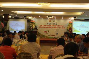 Bảo hộ quyền sở hữu trí tuệ cho sản phẩm nông nghiệp Việt Nam