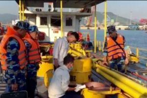 Bắt giữ gần 90.000 lít dầu DO bất hợp pháp ở vùng biển Thanh Hóa