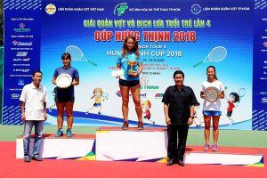 Trần Diễm Ngọc (Đồng Nai) giành á quân đơn nữ U.16 Giải quần vợt VTF Junior Tour 4