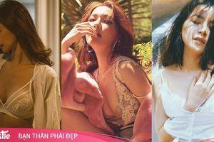 3 người đẹp Việt nổi tiếng ngoan hiền vấp tranh cãi vì loạt ảnh 'mát mẻ' quá đà