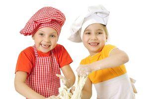 Hãy học nấu ăn con nhé!