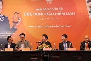 Công bố ứng dụng công nghệ bảo hiểm tự động đầu tiên tại Việt Nam