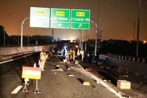 Tai nạn nghiêm trọng trên cao tốc Quảng Ninh - Hải Phòng, nhiều người thương vong