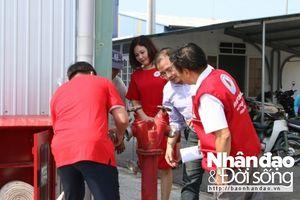 Bàn giao vận hành Trung tâm phòng ngừa ứng phó thảm họa và kho hàng cứu trợ khu vực miền Trung