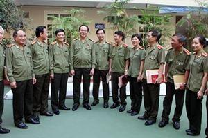 Đại tướng Trần Đại Quang với Báo công an nhân dân