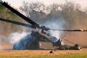 Trực thăng quân đội Afghanistan rơi, 20 người chết