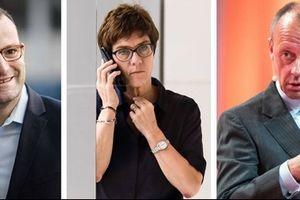 Những gương mặt 'gửi vàng' cho ghế chủ tịch đảng CDU Đức