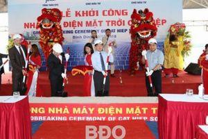 Khởi công dự án điện mặt trời thứ 2 tại Bình Định