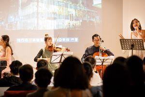 Lạ lẫm hòa nhạc thính phòng trong không gian cafe Nhật Bản đương đại