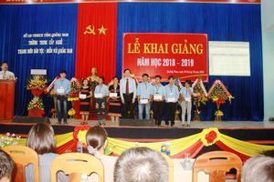Trường Trung cấp nghề Thanh niên Dân tộc - Miền núi Quảng Nam khai giảng năm học mới