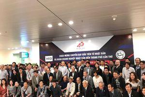 Chuyến bay thẳng đầu tiên đưa 100 khách Nhật đến Cần Thơ