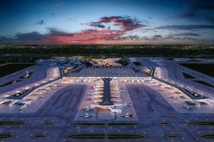 Sân bay lớn nhất thế giới tại thành phố nằm giữa Á - Âu