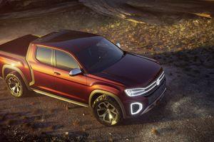 Volkswagen sắp trình làng bán tải cỡ nhỏ mới