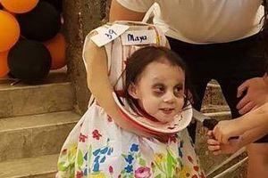 Các em bé chịu chơi và màn hóa trang 'đỉnh nhất' mùa Halloween