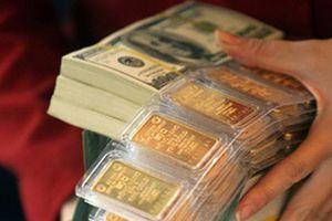 Giá vàng chịu áp lực từ USD lại giảm sâu