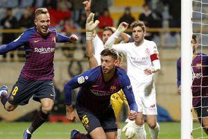 Tân binh lên tiếng, Barcelona thắng chật vật Leonesa 1 - 0