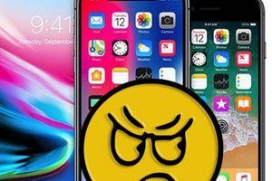 Người dùng iPhone 8 và iPhone X phẫn nộ vì động thái mới từ Apple