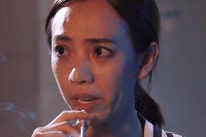 Làm phim về giang hồ nhưng lại bị cấm hút thuốc, Thu Trang nói gì?