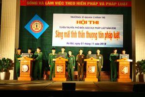 Hội thi tuyên truyền phổ biến giáo dục pháp luật