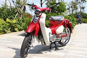 Cận cảnh Honda Super Cub C125 'giá mềm' chính hãng