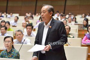 Phó Thủ tướng Trương Hòa Bình: 'Chưa có quy định rõ hình thức từ chức'