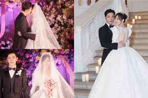 La Tấn - Đường Yên chính thức tiết lộ ảnh đám cưới phủ đầy hoa như cổ tích