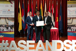 Việt Nam giành giải Ba cuộc thi 'Khám phá khoa học số ASEAN'