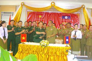 BĐBP tỉnh Quảng Bình hội đàm bảo vệ biên giới với Ty An ninh tỉnh Savannakhet (Lào)