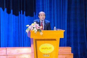 HĐQT Đại học HUFLIT ra nghị quyết miễn nhiệm chức vụ Hiệu trưởng đối với ông Trần Quang Nam