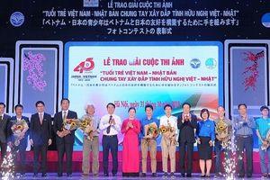 Trao giải cuộc thi ảnh 'Tuổi trẻ Việt Nam - Nhật Bản chung tay xây đắp tình hữu nghị Việt - Nhật'