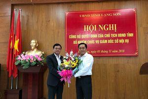 Lạng Sơn: Luân chuyển, bổ nhiệm nhiều lãnh đạo mới