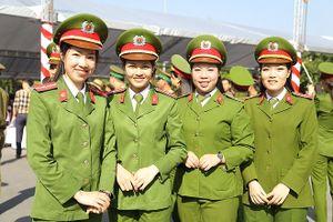 Tưng bừng ngày tốt nghiệp tại Học viện Cảnh sát nhân dân