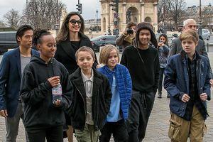 6 người con 'mệt mỏi' với Angelina Jolie, muốn được sống cùng bố?